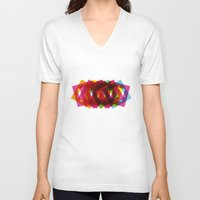 islam V-neck T-shirts featuring Beauty of Islam by Amr Elkouedy