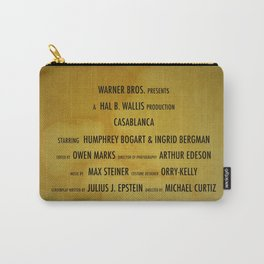 Casablanca cast & crew Carry-All Pouch