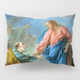 """François Boucher """"St. Peter Invited to Walk on the Water"""" Pillow Sham"""