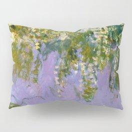 "Claude Monet ""Wisteria"", 1920 (left side) Pillow Sham"