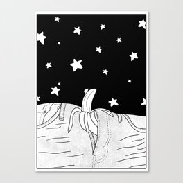She will take you to the stars! Canvas Print