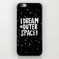 I Dream of Outer Space iPhone & iPod Skin