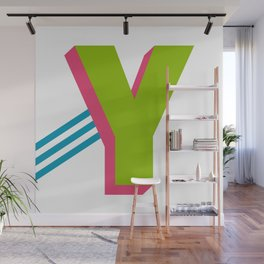Letter Y Wall Mural