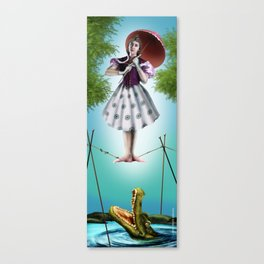 SP Tightrope Walker by Topher Adam 2017 Canvas Print