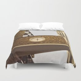Architecture in Ulm Duvet Cover