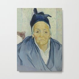 An Old Woman of Arles Metal Print