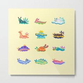 Sea slug Metal Print