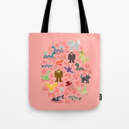 Cryptids of the Pacific Northweird Tote Bag