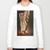 moth Long Sleeve T-shirts featuring Moth by Unfocussed