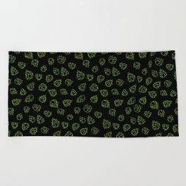 Hopcone Pattern Beach Towel