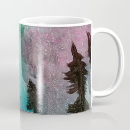Northern Lights - Mint Green Palette Coffee Mug
