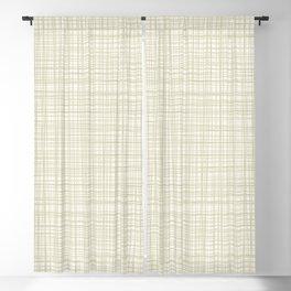Burlap Barkcloth Blackout Curtain