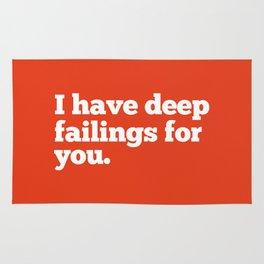 Deep Failings For You Rug