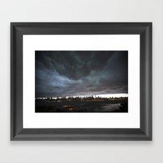 New York Before the Storm Framed Art Print
