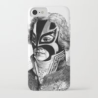wrestling iPhone & iPod Cases featuring WRESTLING MASK 11 by DIVIDUS