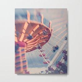 Amusement Park Adventure Metal Print