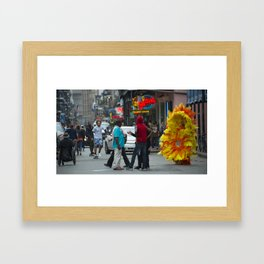 Nola Sunflower Framed Art Print