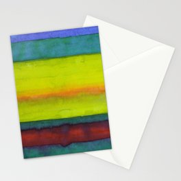 Summer Fields Stripes Stationery Cards
