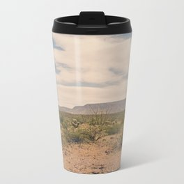 Down Desert Roads II Metal Travel Mug