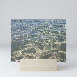 Pattern sea Mini Art Print