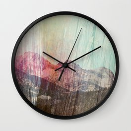cedars sky Wall Clock