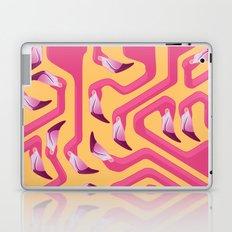 Flamingo Maze Laptop & iPad Skin