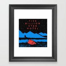 Star Hotel Framed Art Print