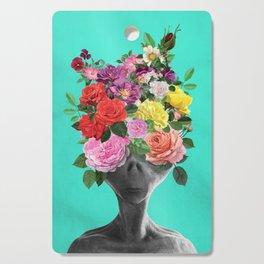 Alien Bouquet  Cutting Board