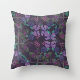 DIFFERENT VINES Throw Pillow