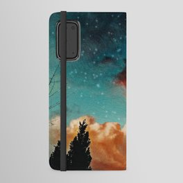 Seeing a City in the Clouds Android Wallet Case