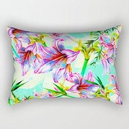 Lover bloom summer tropical Rectangular Pillow