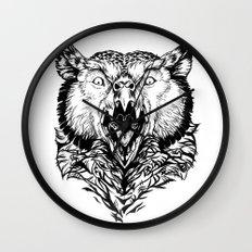 Beware the Owlbear Wall Clock