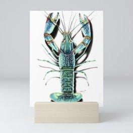 Red Clawed Crayfish Mini Art Print
