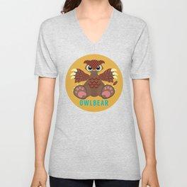 Owlbear! Unisex V-Neck