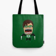 Screaming Green Lantern Tote Bag