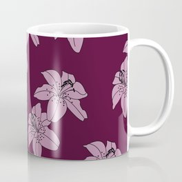 Lily The Tiger - Purple Coffee Mug