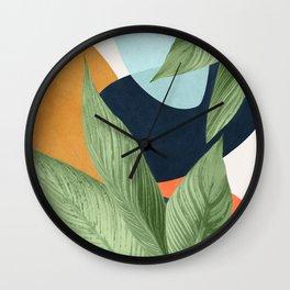 Nature Geometry VIII Wall Clock