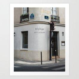 Arpège Art Print