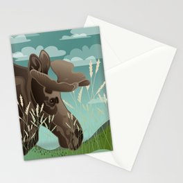 Shiras Moose Stationery Cards