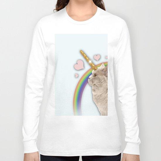 CAT UNICORN Long Sleeve T-shirt