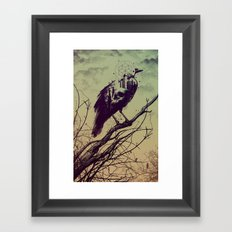 Calling of Death Framed Art Print