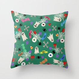 Maybe you're haunted #4 Throw Pillow