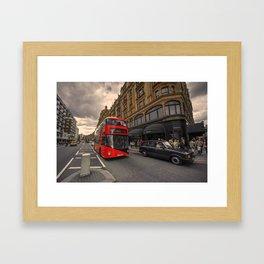 A new bus for London  Framed Art Print