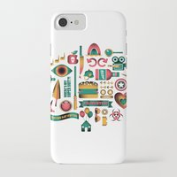 movies iPhone & iPod Cases featuring Summer Movies by RevengeLover