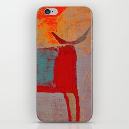 Toro Rojo iPhone Skin
