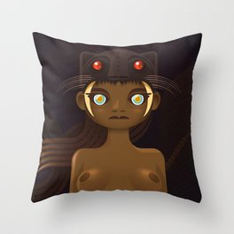 Amazona | Animal Gods Throw Pillow