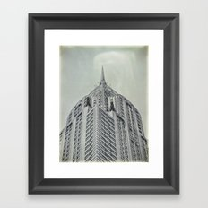 Vintage Chrysler Cuilding 1930's Framed Art Print