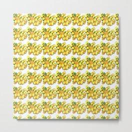 roses of yellow Metal Print