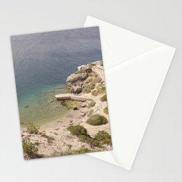 Little bay I Peloponnese, Greece I Europe I Travel photography Stationery Cards