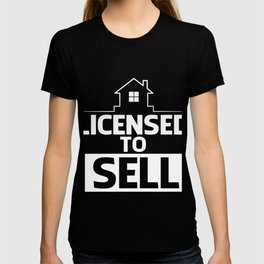 Costume For Real Estate Agent. T-shirt